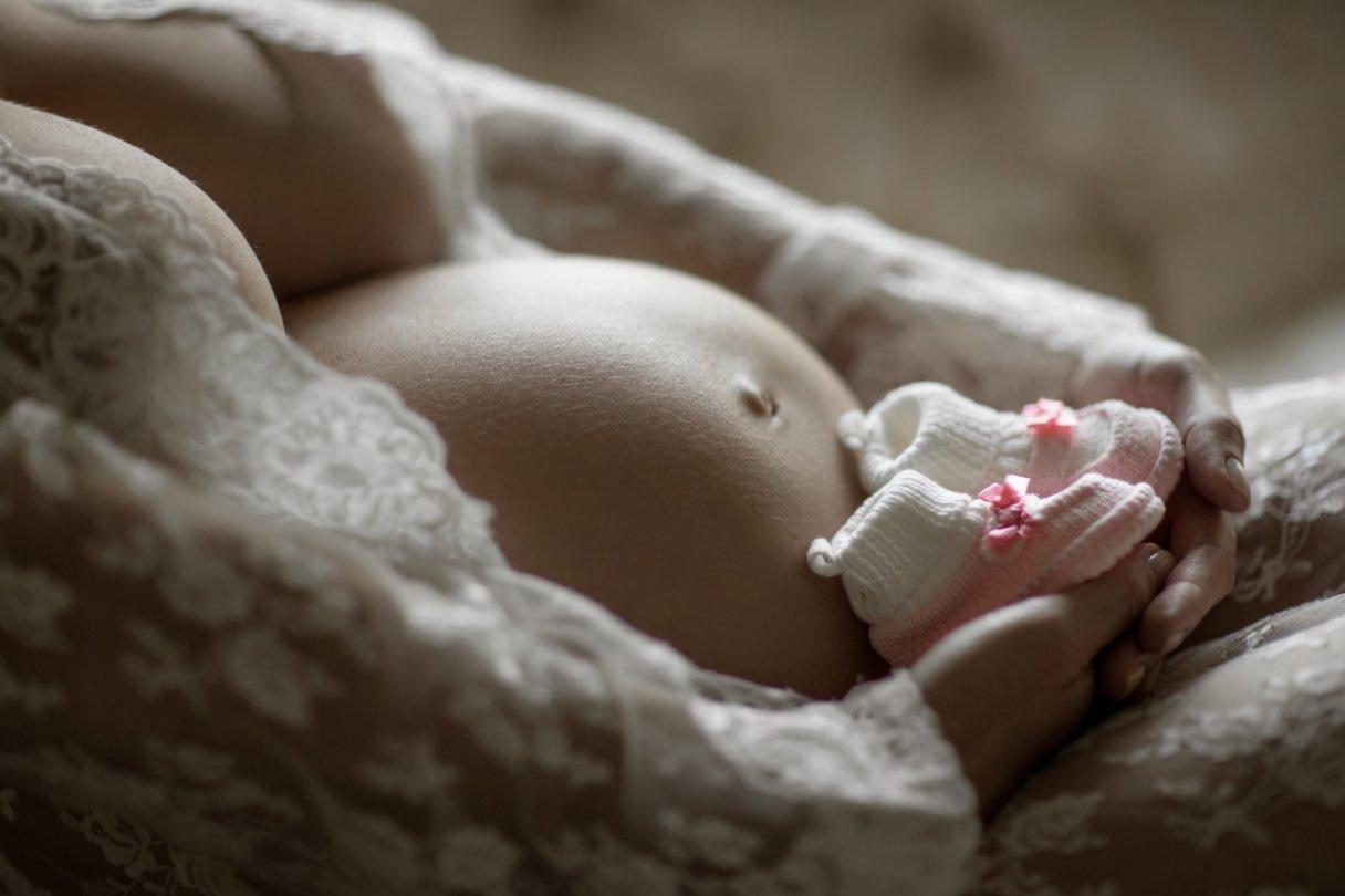 boudoir model