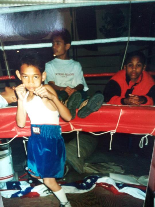 Nonito Donaire and Andre Ward as children