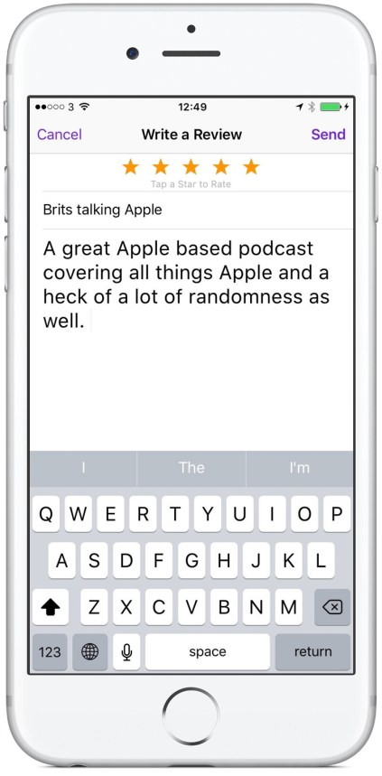img How To Leave A Podcast Review Using Your iPhone