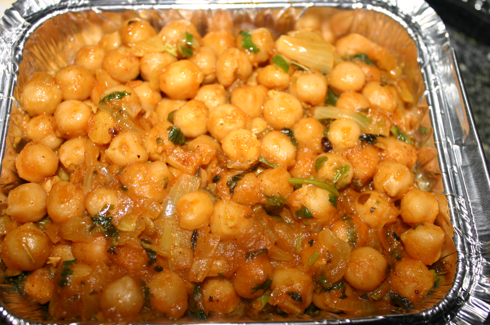 Chana Masala from Bengal Curry House