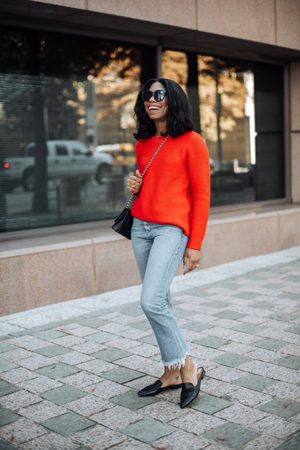 casual fashion style dallas blogger stephanie taylor jackson black fashion blogger