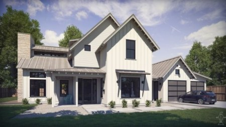 Top 10 Modern Farmhouse House Plans     La Petite Farmhouse farmhouse house plans   perch plans