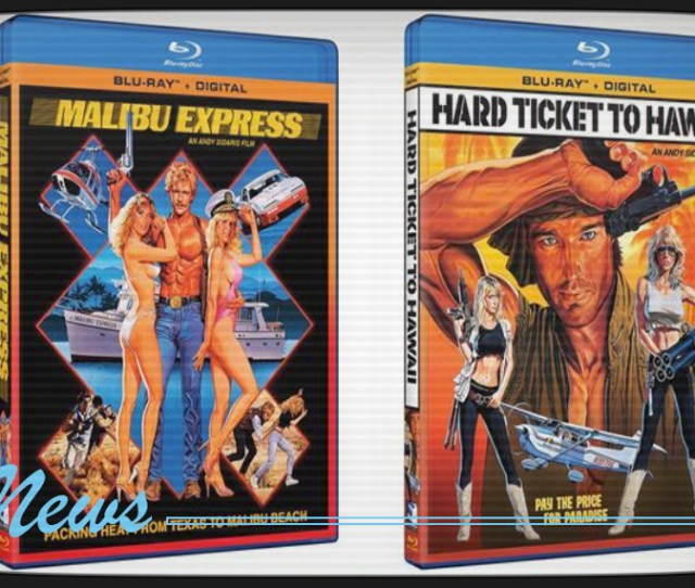 Malibu Express And Hard Ticket To Hawaii Coming To Blu Ray From Mill Creek