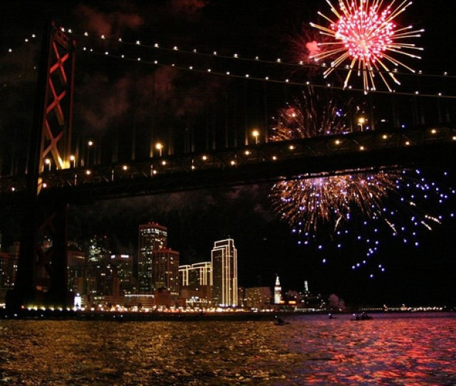 New Years Eve Fireworks Cruise Bass Tub San Franciscos Premier Fishing Tours Events