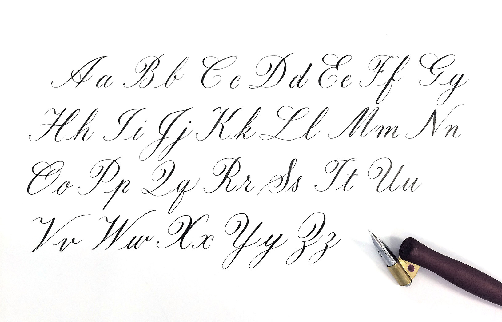A Quick History Of Copperplate Calligraphy