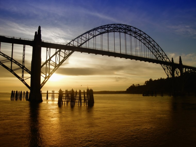 74 Years Later - Yaquina Bay, Newport, OR