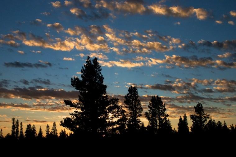 Sunrise Clouds - Mammoth Mountain, CA
