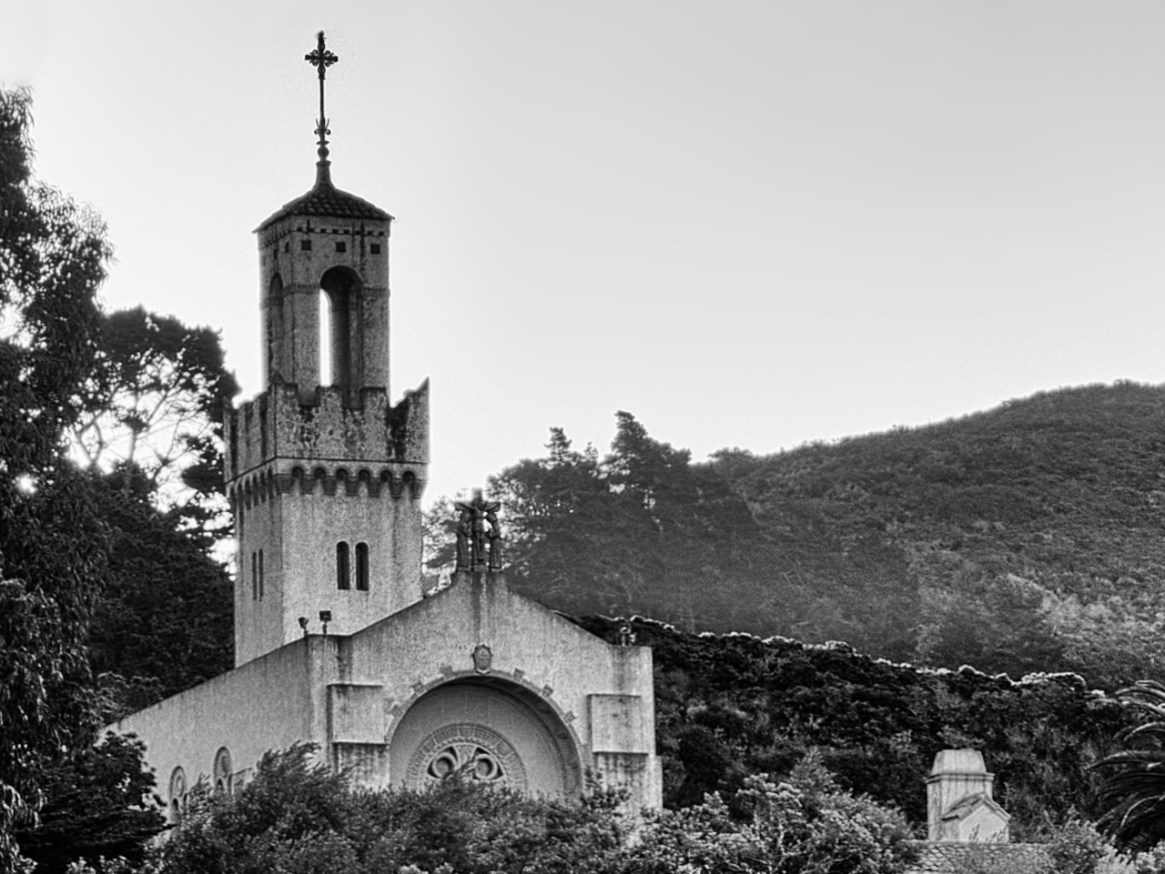 Sunrise on Carmelite Monastery - Carmel, CA