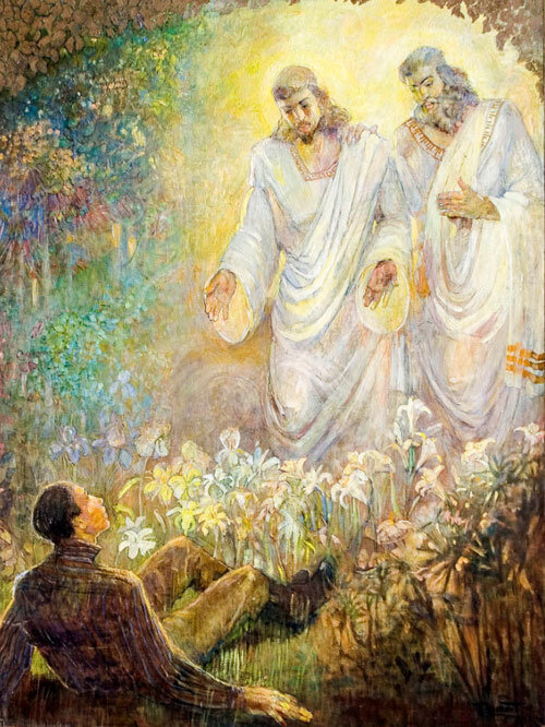 Image result for the first vision painting