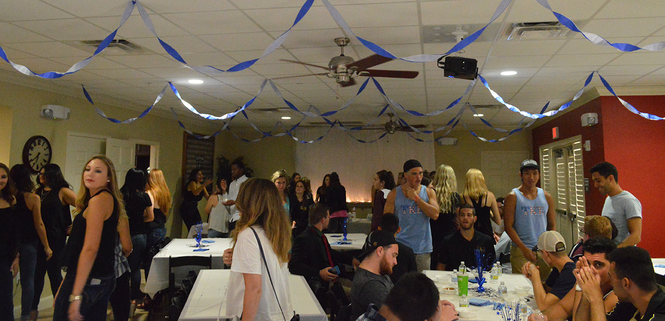The Scoop-A-Dish for Make-A-Wish event on Thursday, Sept. 15 at the Chi Omega house had a good turn out.