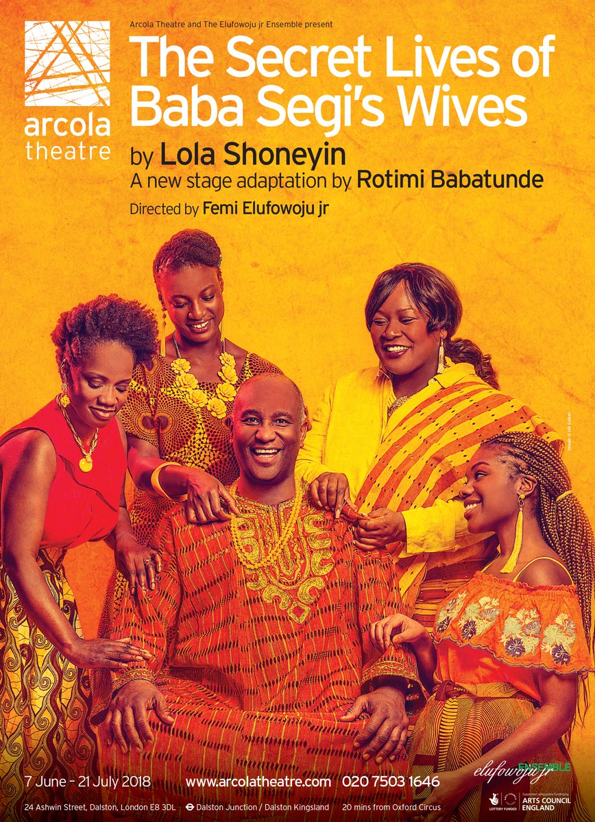 The Secret Lives Of Baba Segi's Wives On Stage (London) — The Book ...
