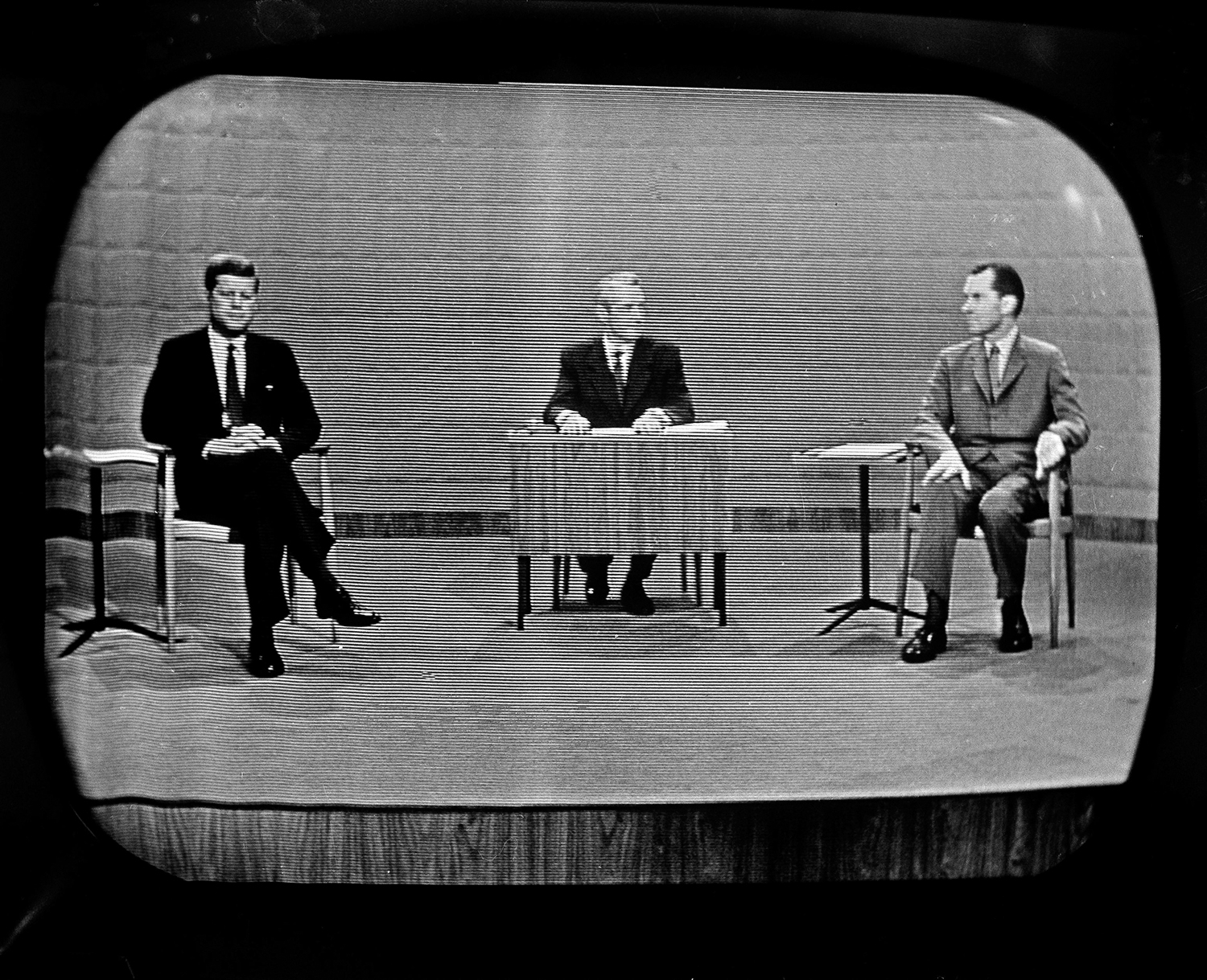 Nixon Kennedy The First Televised Presidential Debate
