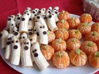 images of healthy halloween snacks