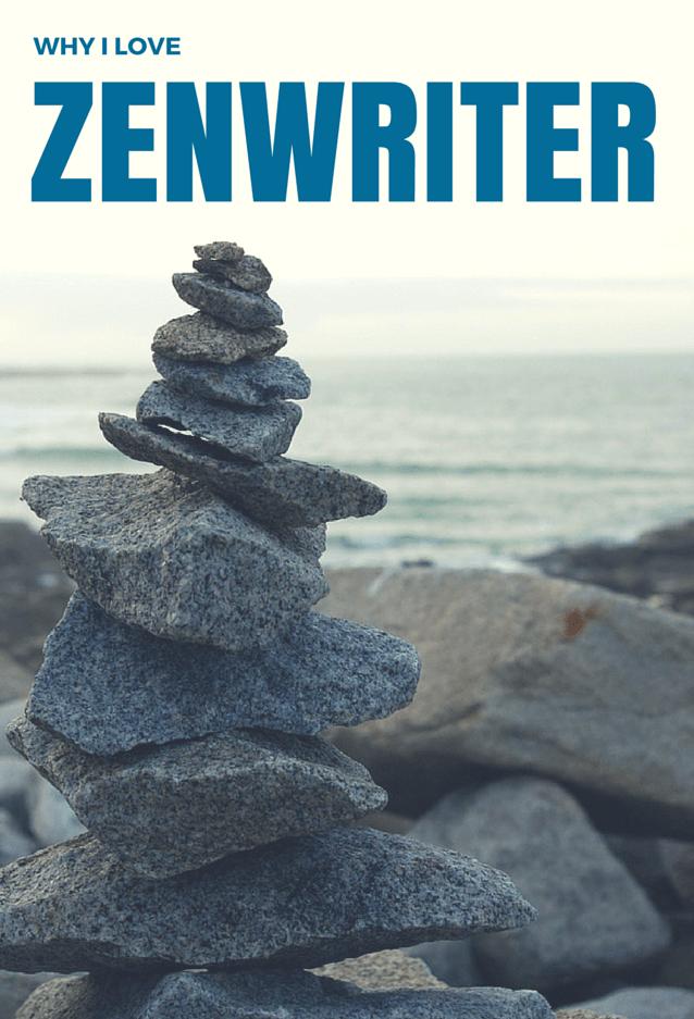 Pile of zen rocks on a beach