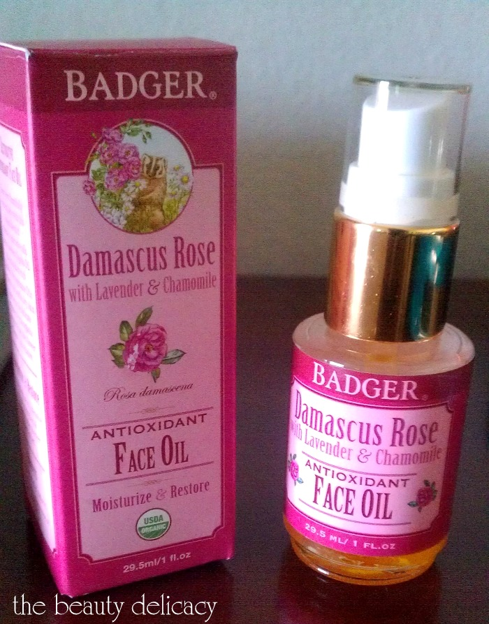 badger face oil