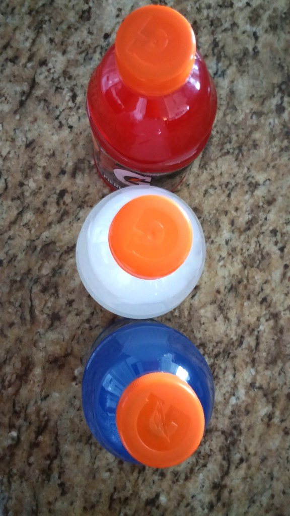 red white and blue gatorade flavors