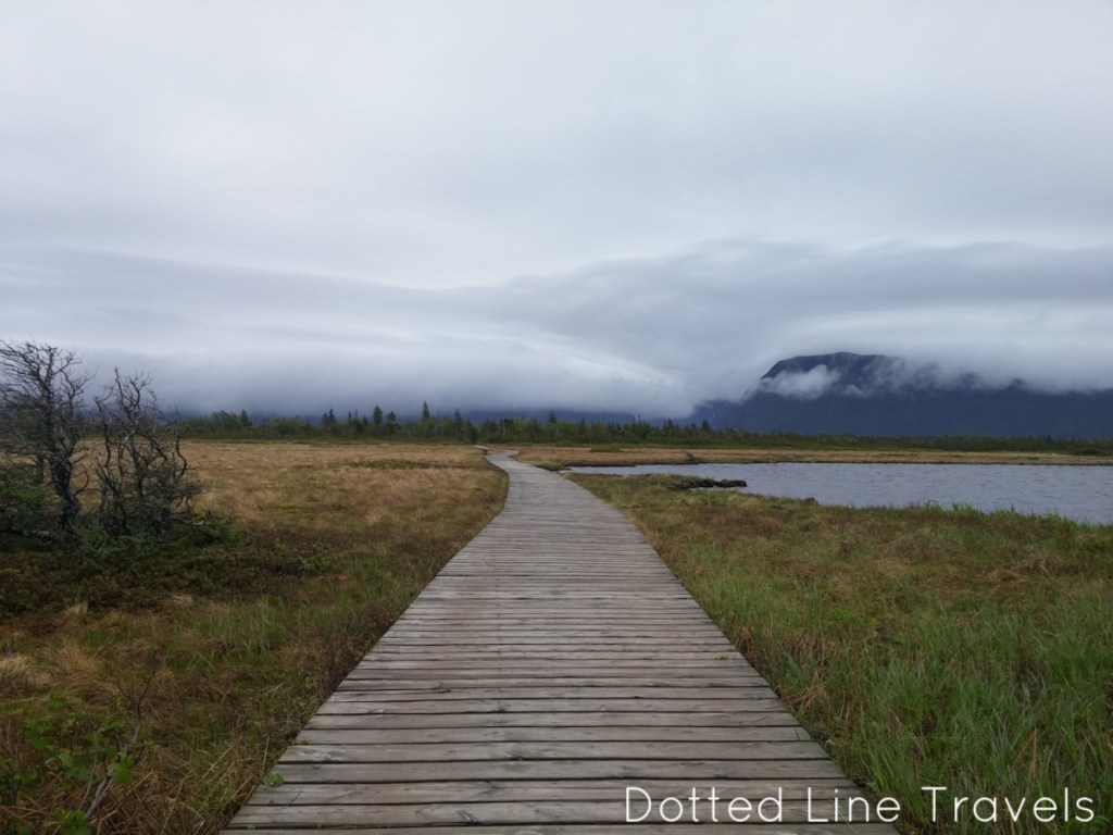 Western Brook Pond, Newfoundland, via Dotted Line Travels on #TheWeeklyPostcard with TravelLatte.net