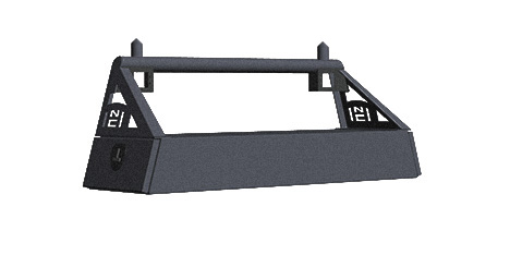 nissan frontier side slide rack 2004 2014 hard notched customs customized bumpers and headache racks