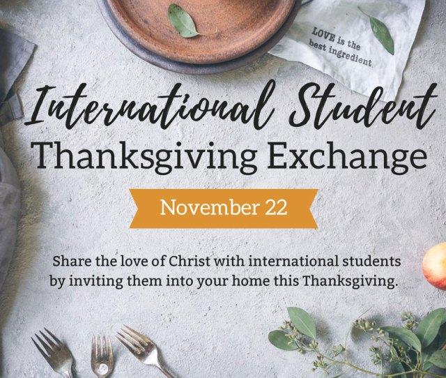 Thanksgiving Exchange Program