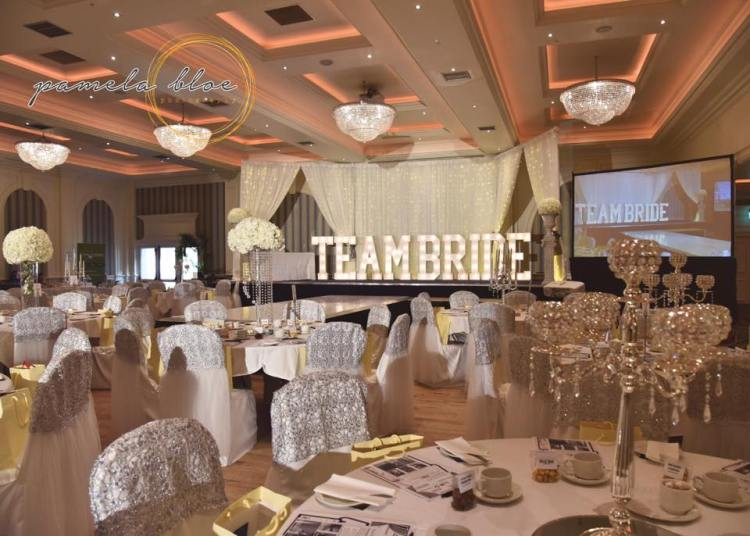 Room Decor of my dreams thanks to Ultimate Touches and TEAMBRIDE in lights from Scene Setters