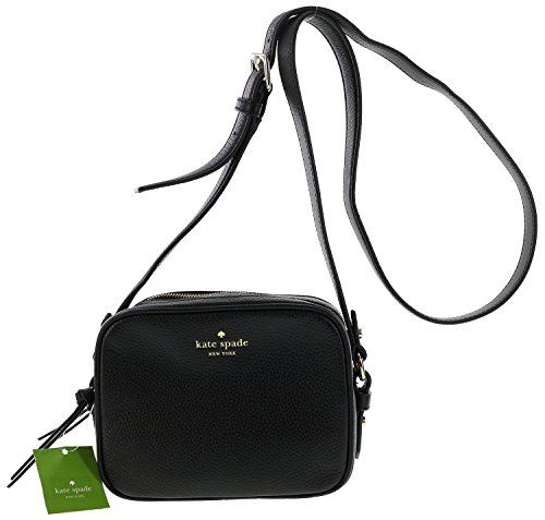 Kate Spade New York Mulberry Street Pyper Pebbled Leather Crossbody Shoulder Bag (Black) $102.18 Kate Spade New York