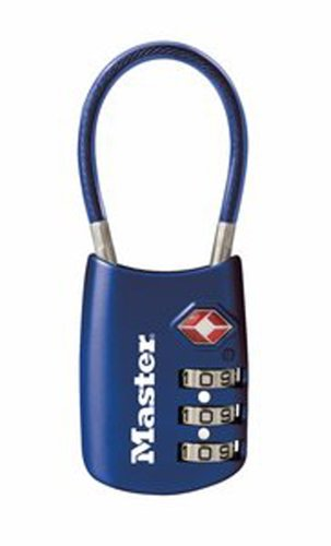 Master Lock 4688D TSA Accepted Cable Luggage Lock, Color May Vary $5.98 Master Lock