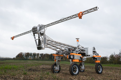 Britain's New Robotic Weed Remover-Telugu Agriculture News-Dec 2019