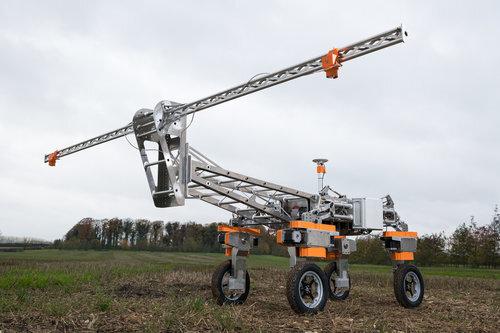 Britain's New Robotic Weed Remover-Telugu Agriculture News-Dec 2019