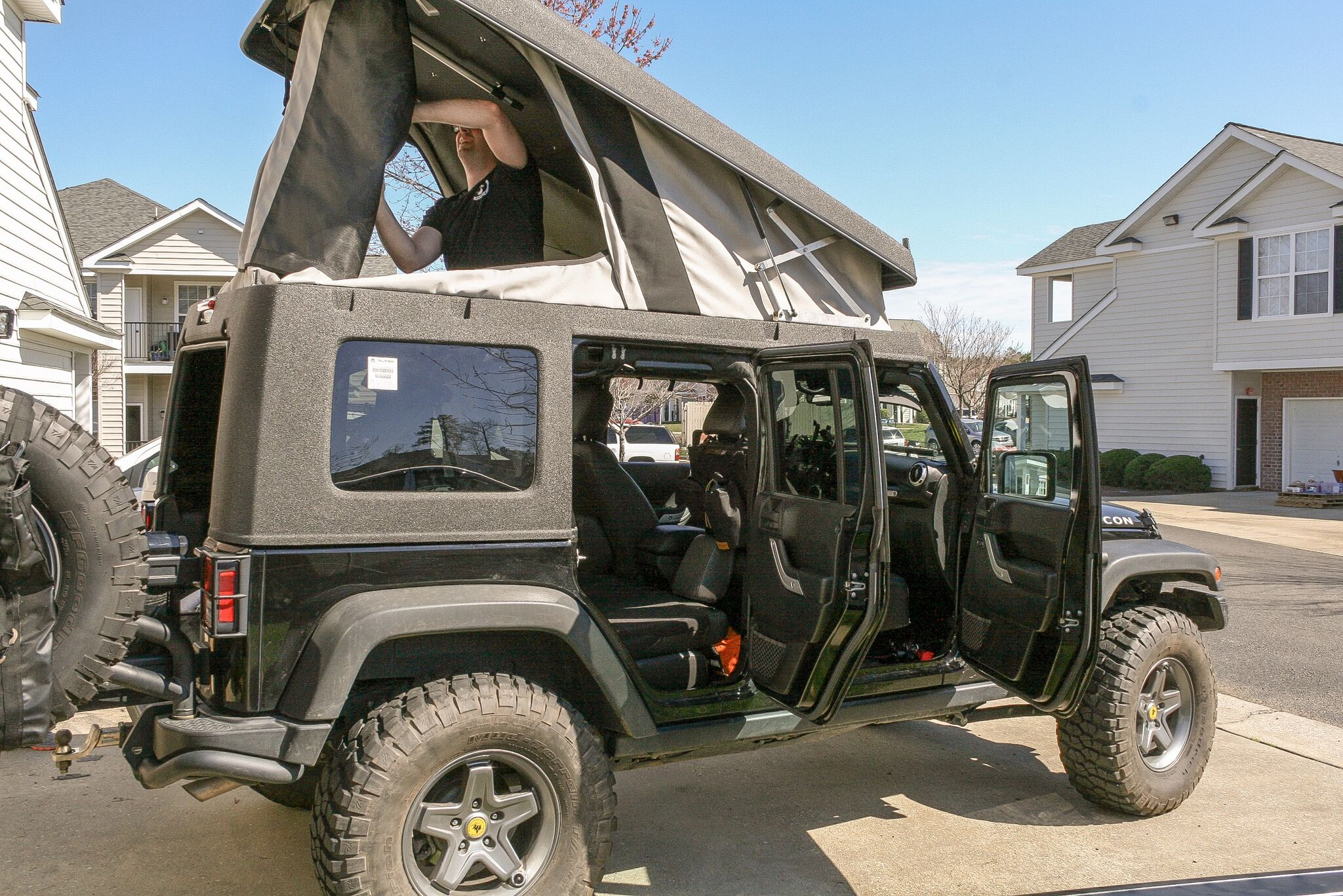 Ursa Minor Jeep Camper Conversion
