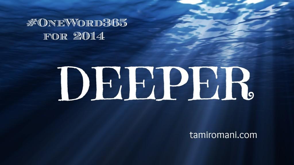 Deeper.OneWord365.2014
