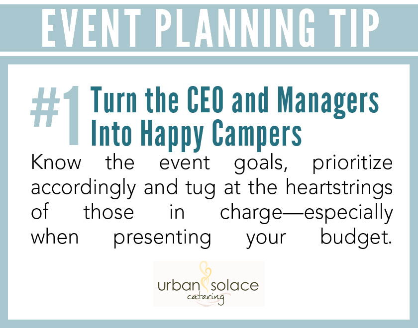 Tips Event Planning