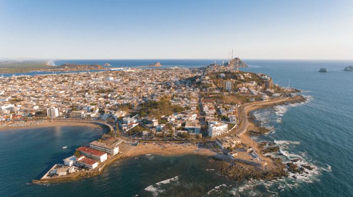 Resultado de imagen de drones playas mazatlan