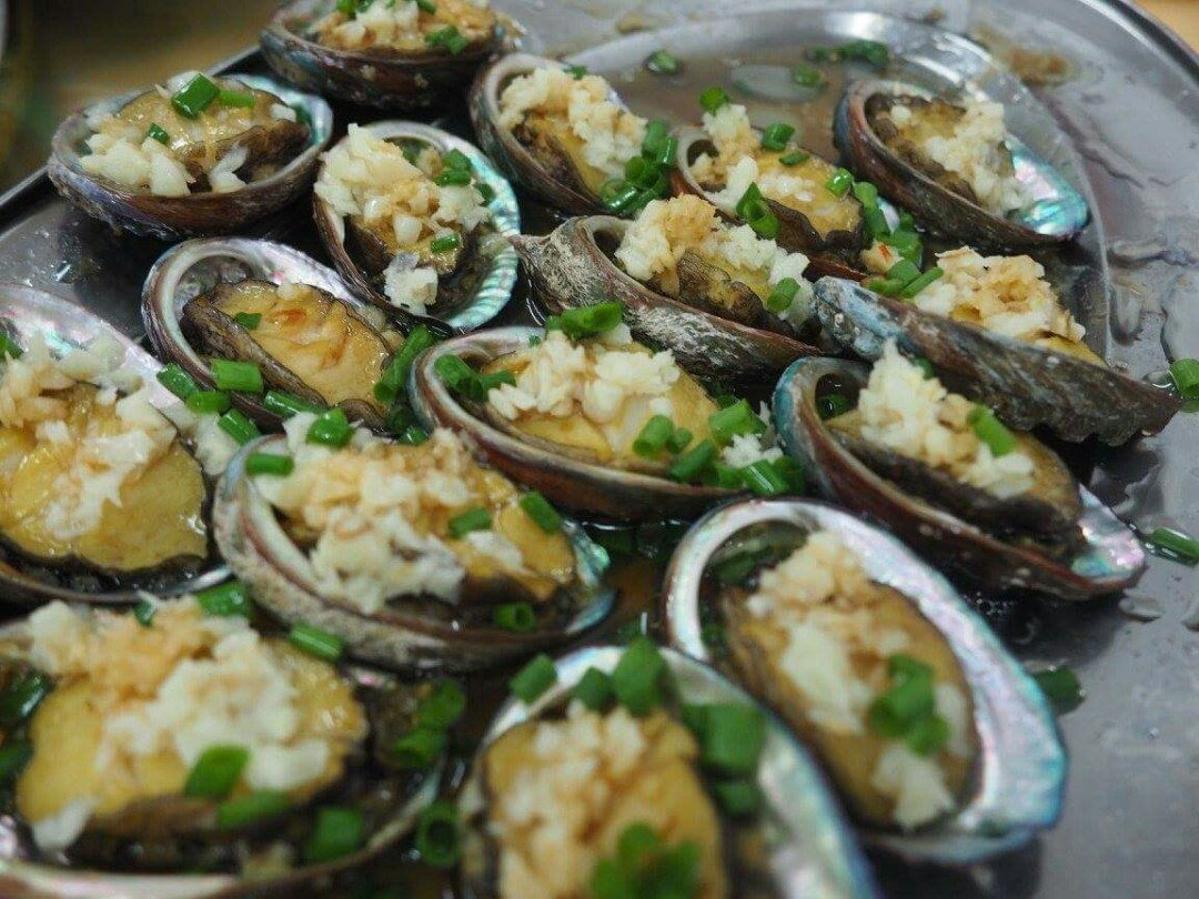 Garlic baked oyster