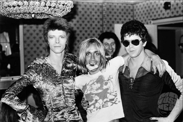 Image result for david bowie lou reed
