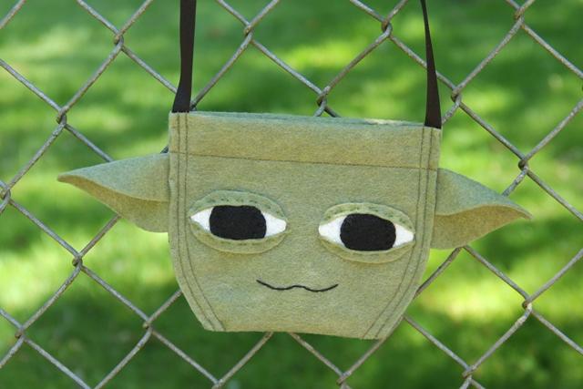 Yoda Bag from Crafty Staci