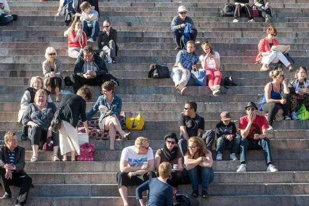 Citizens in Helsinki