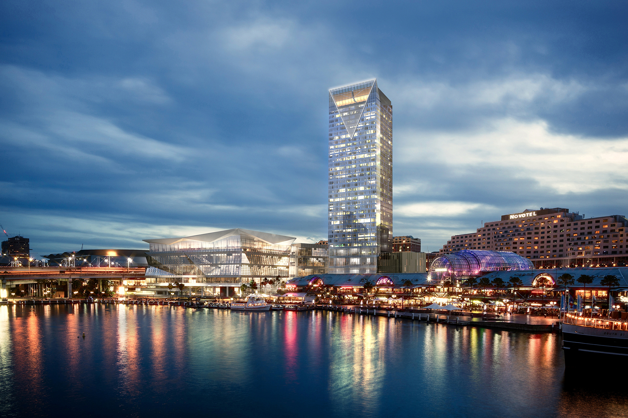 Sofitel Darling Harbour rendering