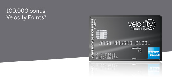 American Express Velocity Platinum Card