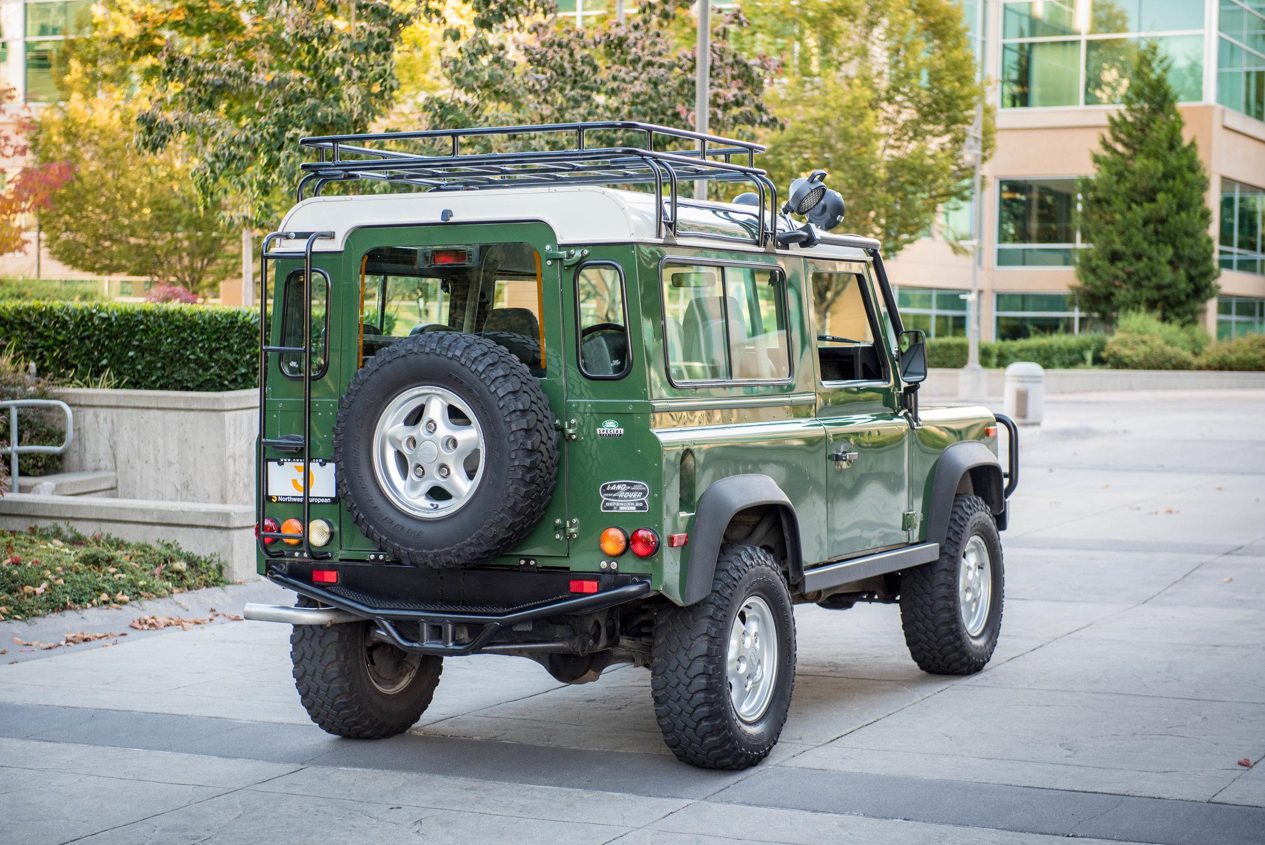 1997 Land Rover Defender 90 NAS — Northwest European