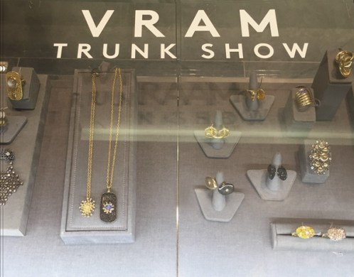 VRAM Jewelry     MADISON TRUNK SHOW EXTENDED VRAM Jewelry Continuum Barneys New York Madison