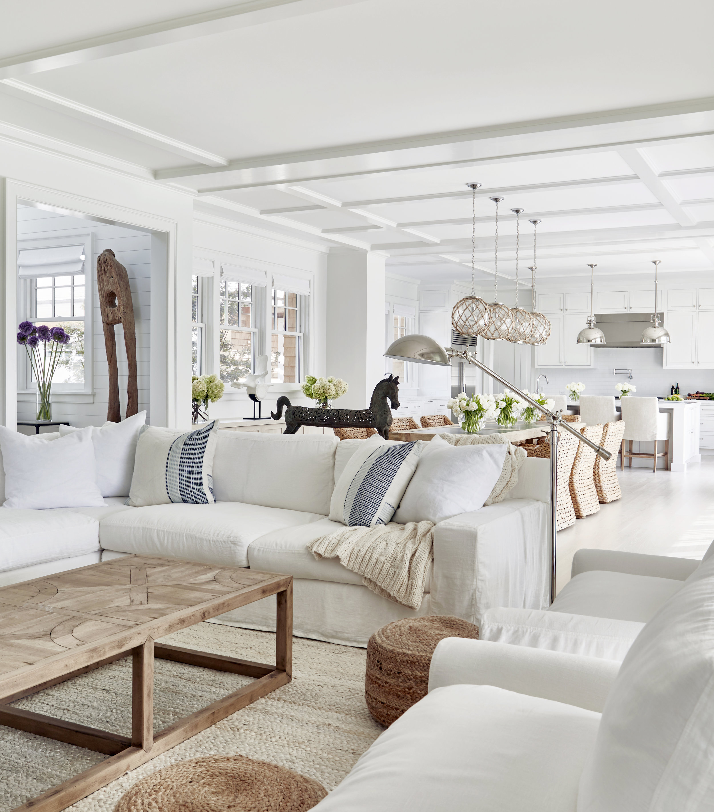 Hamptons Beach House Interior Design
