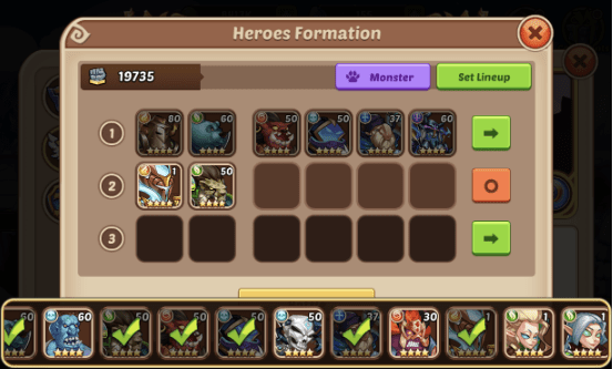 Arena Mode That Requires Three Full Character Teams