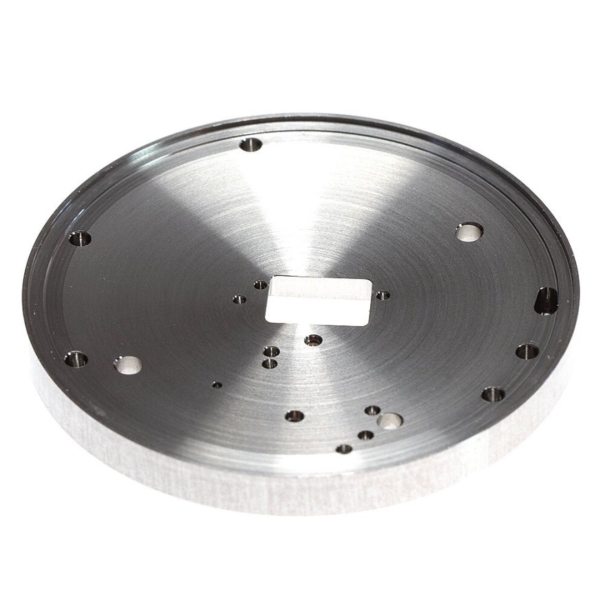 Upperside of membrane support plate