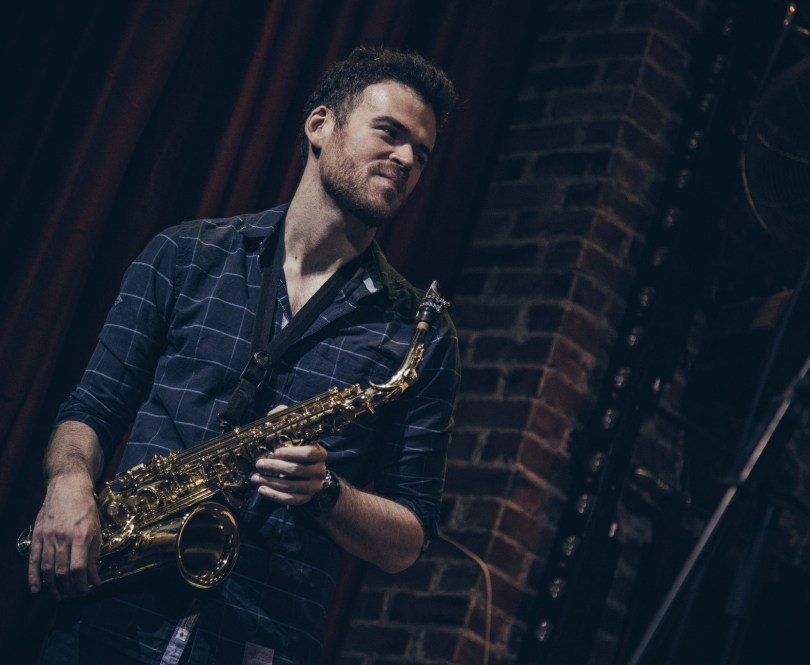Andrew Gould   Alto Sax — Outside in Music