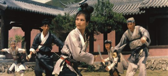 Shaw Brothers Come Drink With Me Fight Scene
