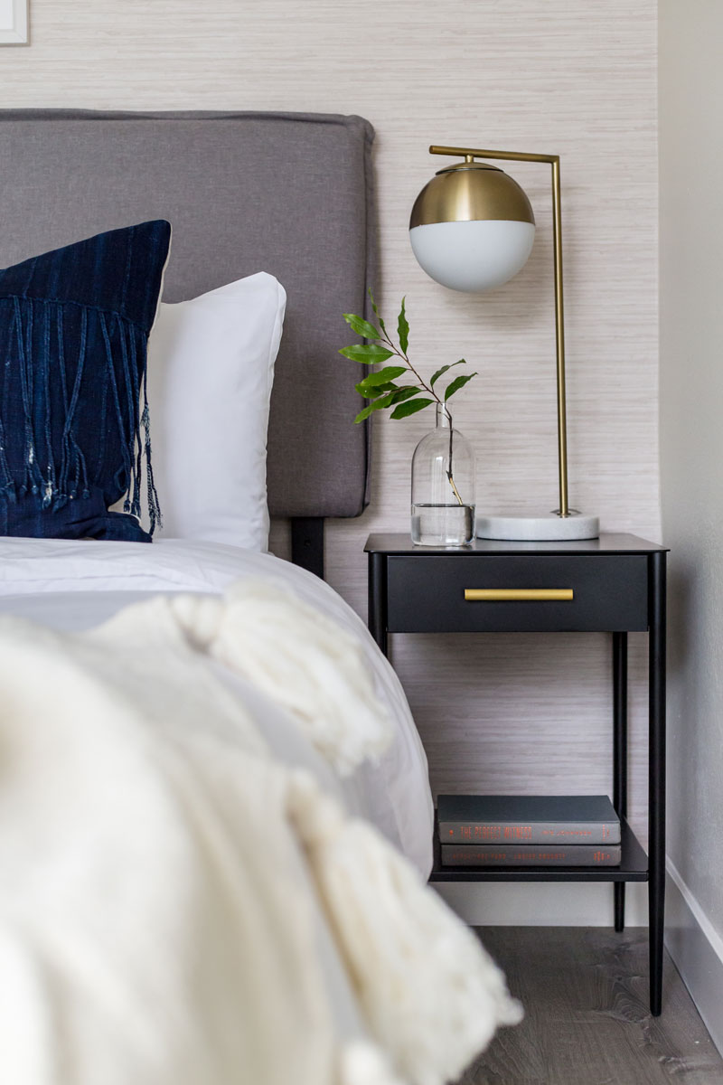 How To Bedroom Lamp Nightstand Pairings Jordan Interiors