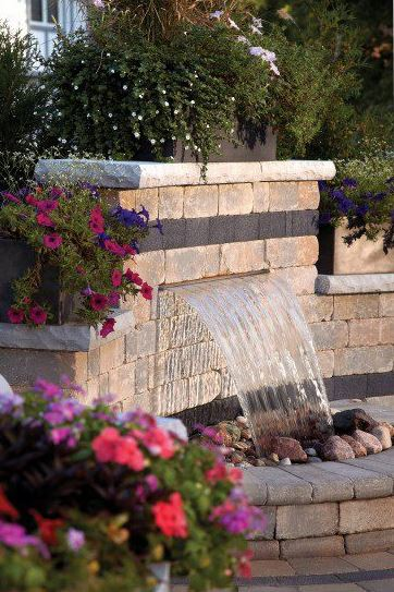 natural stone fountain ideas that add elegance to patio areas in lancaster pa watson supply