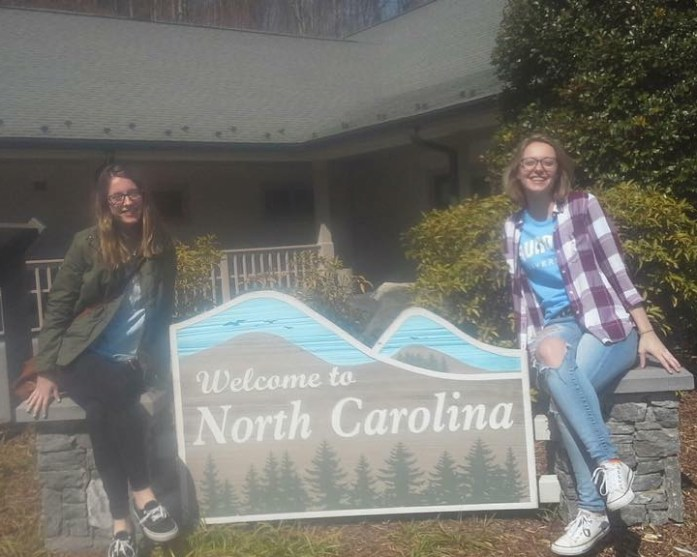 The one where we cross the North Carolina border to use the bathroom.
