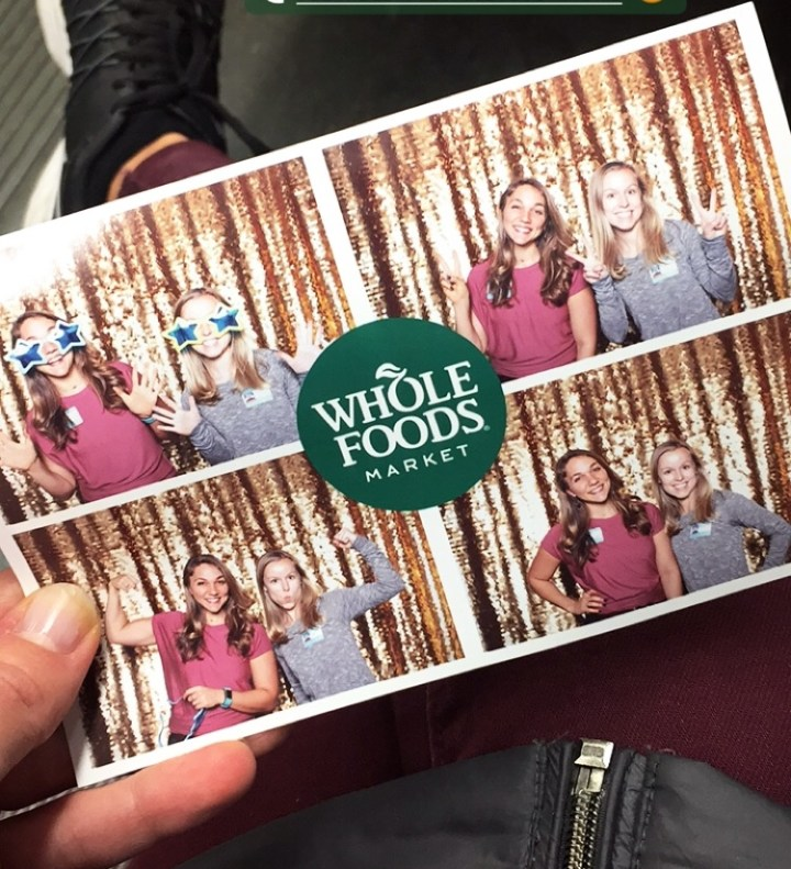 A special shout-out to Monica for taking me as her +1 to this event! Here's us at the photo booth before we called it a night.