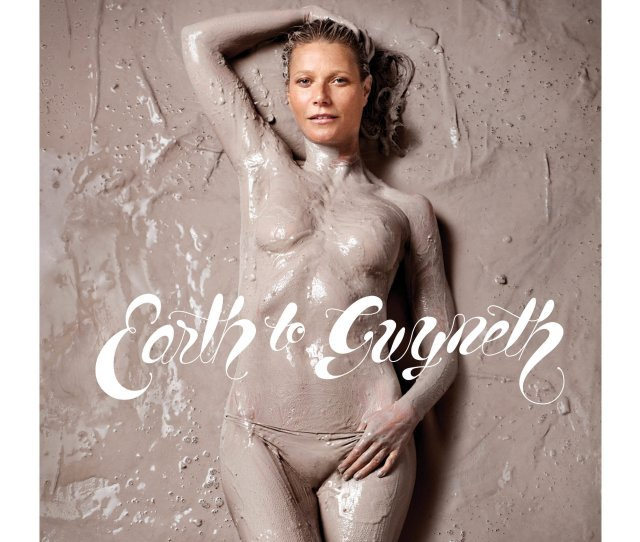 Is Gwyneth Paltrow Channeling Lauren Hutton In This Nude Goop Cover